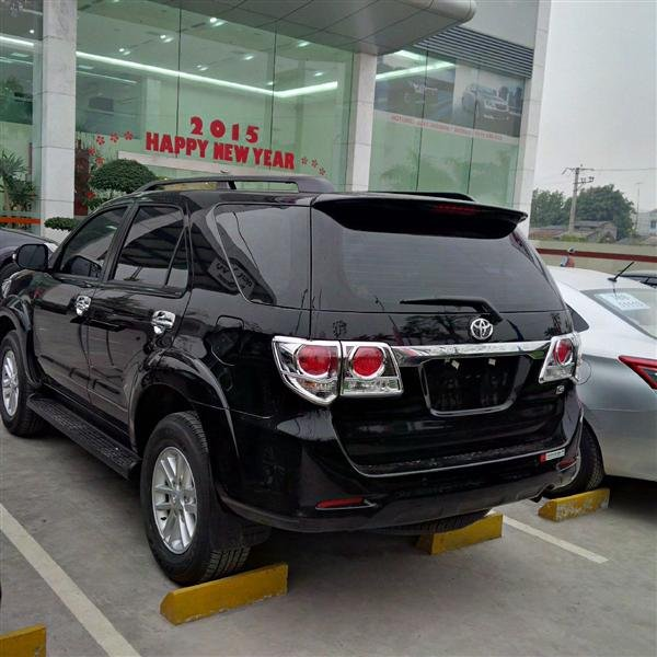 Bán xe Toyota Fortuner đời 2015, màu đen, giá 892tr-3