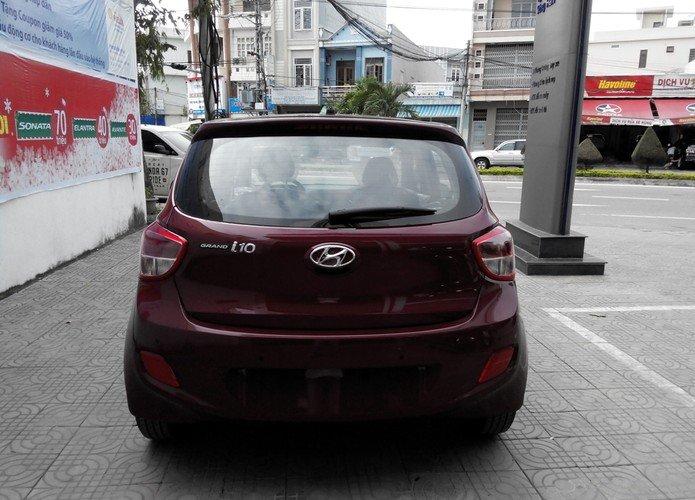 Cần bán xe Hyundai i10 đời 2015, màu đỏ, nhập khẩu chính hãng-4