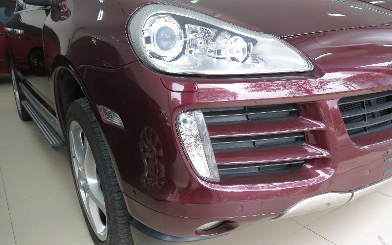 Bán xe Porsche Cayenne đời 2008, màu đỏ, nhập khẩu chính hãng-1