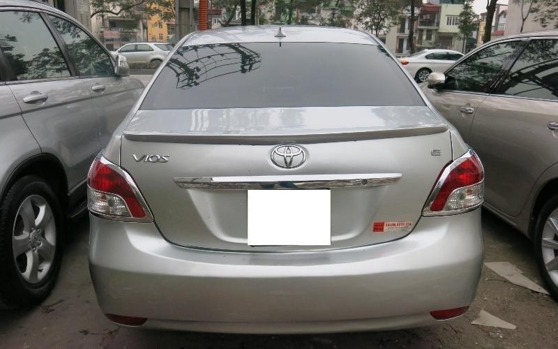 Bán ô tô Toyota Vios 2009, màu bạc, giá 485tr-5