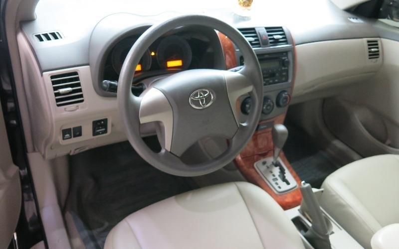 Toyota Corolla đời 2009, màu đen, nhập khẩu nguyên chiếc-4
