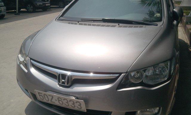 Bán xe Honda Civic đời 2007, màu xám, chính chủ tốt-1