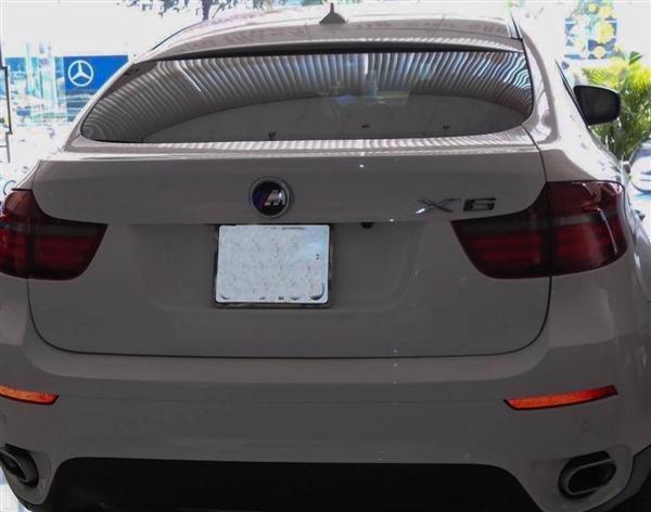 Bán BMW X6 cũ màu trắng, nhập khẩu nguyên chiếc-0