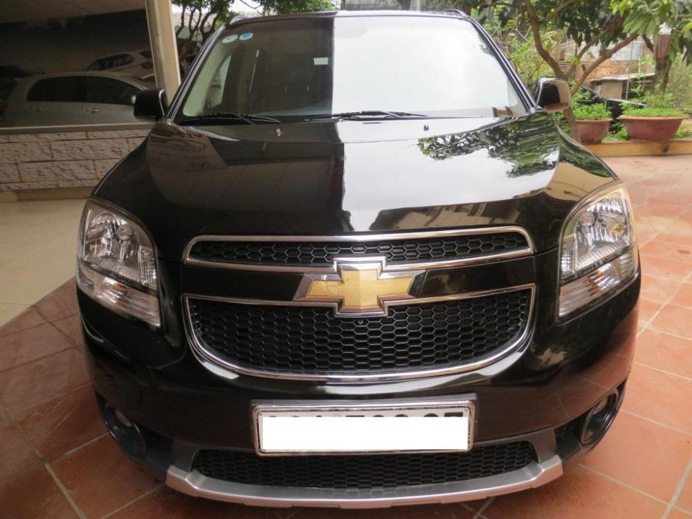 Bán ô tô Chevrolet Orlando đời 2012, màu đen, số sàn-0