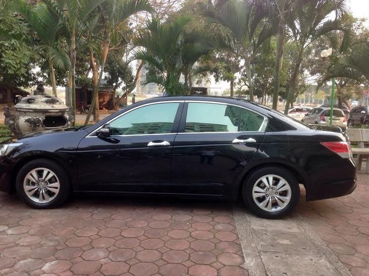Cần bán lại xe Honda Accord đời 2010, màu đen, nhập khẩu nguyên chiếc -0