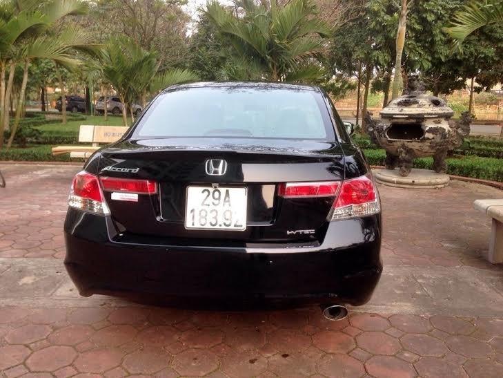 Cần bán lại xe Honda Accord đời 2010, màu đen, nhập khẩu nguyên chiếc -2