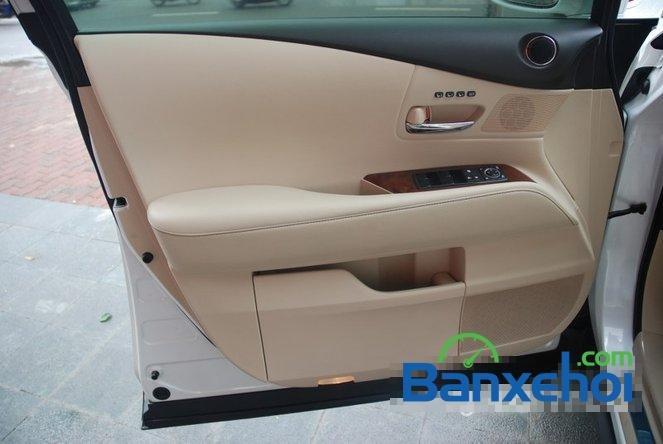 Xe Lexus RX 450H cũ màu trắng đang được bán. Xe được sản xuất năm 2012, đã đi 20000 km-9