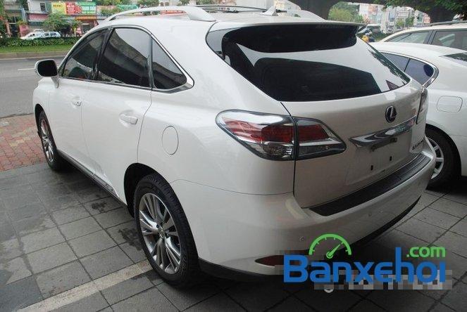 Xe Lexus RX 450H cũ màu trắng đang được bán. Xe được sản xuất năm 2012, đã đi 20000 km-3