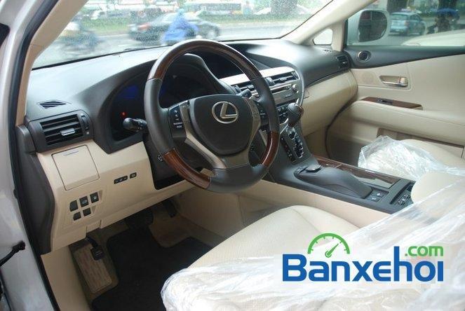 Xe Lexus RX 450H cũ màu trắng đang được bán. Xe được sản xuất năm 2012, đã đi 20000 km-8