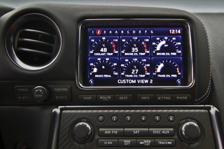 Đánh giá tiện nghi xe Nissan GT-R Premium 2015