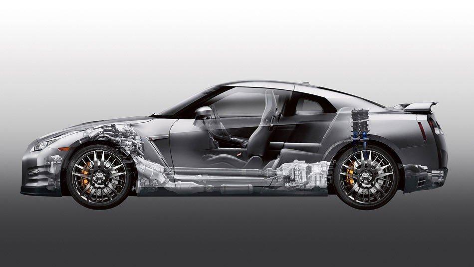 Đánh giá động cơ xe Nissan GT-R Premium 2015