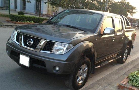 Cần bán xe Nissan Navara cũ màu xám, nhập khẩu chính hãng-0