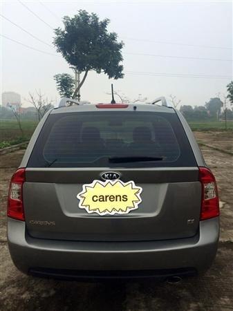 Bán Kia Carens EX đời 2011, màu xám, xe gia đình, giá 410tr-1
