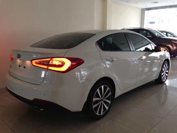 Bán ô tô Kia K3 1.6AT sản xuất 2015, màu trắng, sang trọng, lịch lãm-1