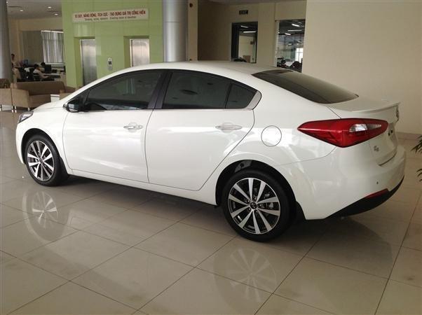 Bán ô tô Kia K3 1.6AT sản xuất 2015, màu trắng, sang trọng, lịch lãm-5