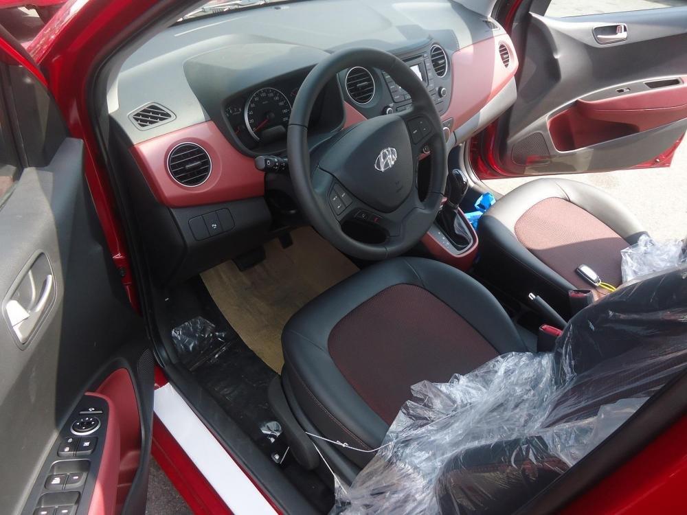 Bán ô tô Hyundai i10 đời 2015, màu đỏ, nhập khẩu chính hãng - LH ngay 0939984498-7