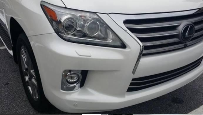 Bán xe Lexus LX sản xuất 2015, màu trắng, xe có giấy tờ thủ tục giao ngay-8