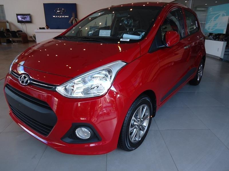 Bán ô tô Hyundai i10 đời 2015, màu đỏ, nhập khẩu chính hãng - LH ngay 0939984498-9