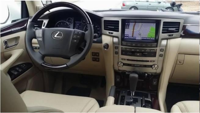 Bán xe Lexus LX sản xuất 2015, màu trắng, xe có giấy tờ thủ tục giao ngay-2