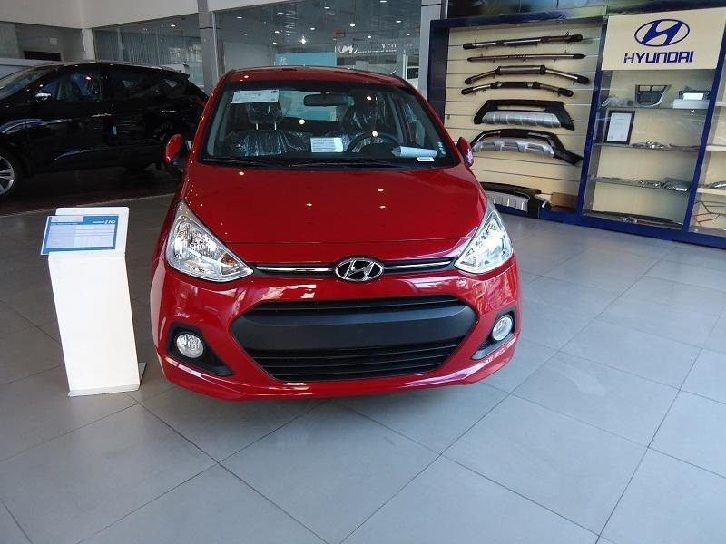 Bán ô tô Hyundai i10 đời 2015, màu đỏ, nhập khẩu chính hãng - LH ngay 0939984498-8