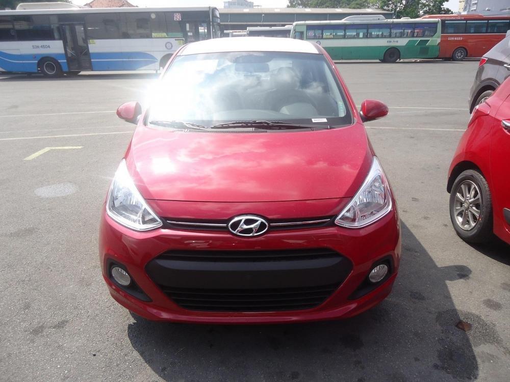 Bán ô tô Hyundai i10 đời 2015, màu đỏ, nhập khẩu chính hãng - LH ngay 0939984498-0