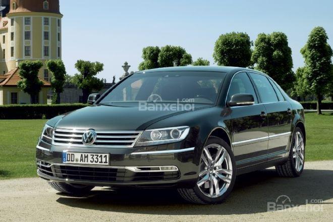 Volkswagen Phaeton mới bị hoãn sản xuất vì vấn đề chi phí