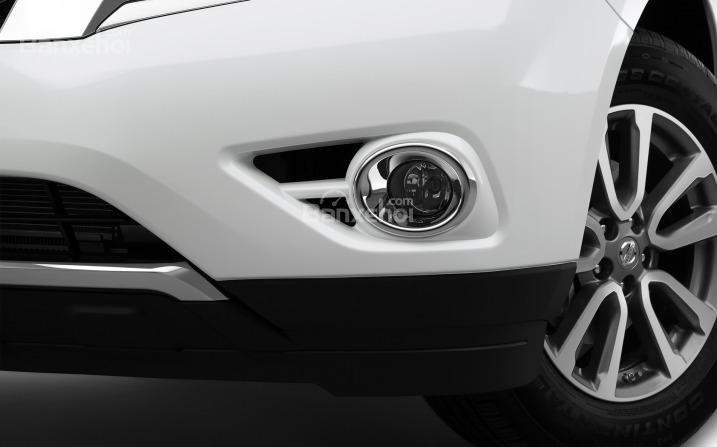 Đèn sương mù ấn tượng của Nissan Pathfinder 2015.