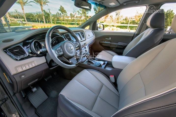 Đánh giá ghế ngồi xe Kia Sedona 2015