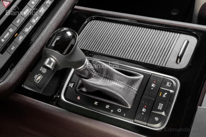 Đánh giá cần gạt số xe Kia Sedona 2015