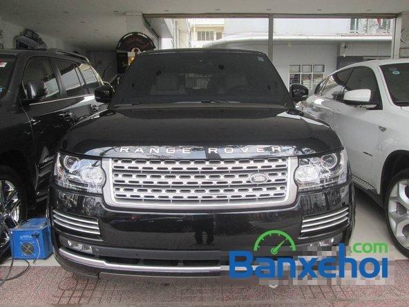 Salon ô tô Chính Hùng bán ô tô LandRover Range Rover đời 2013, màu đen đã đi 9600 km-0