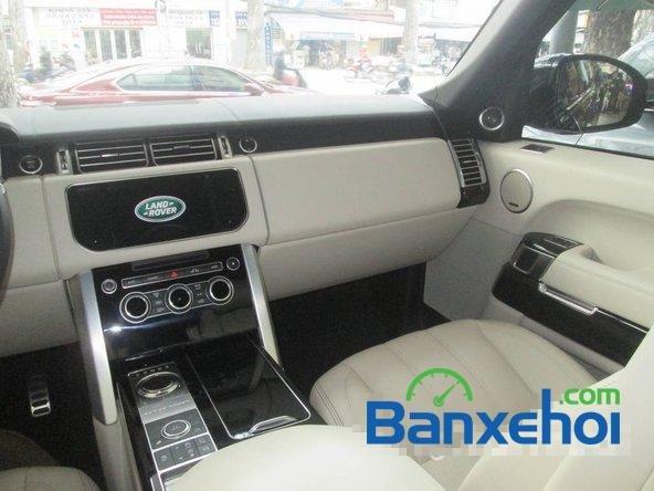 Salon ô tô Chính Hùng bán ô tô LandRover Range Rover đời 2013, màu đen đã đi 9600 km-9
