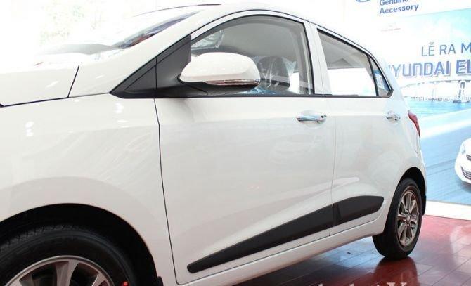Đánh giá thân xe Hyundai Grand i10 2014