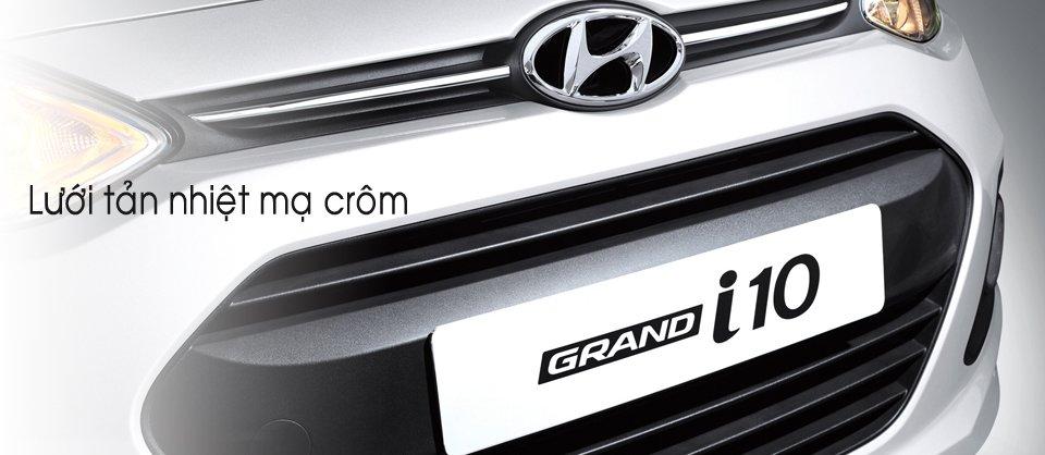 Đánh giá lưới tản nhiệt Hyundai Grand i10 2014