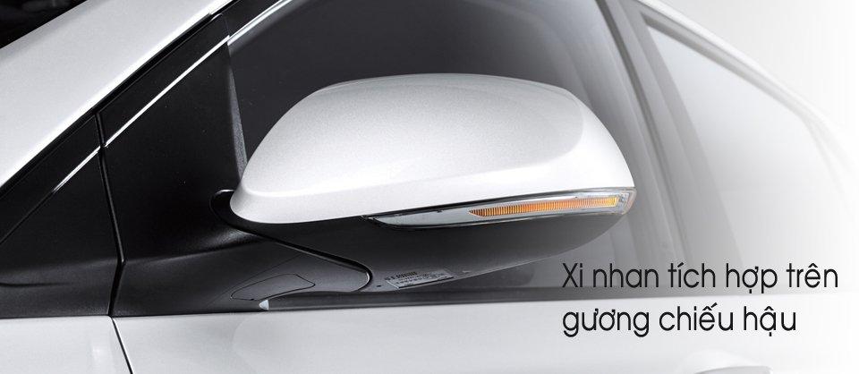 Đánh giá gương chiếu hậu Hyundai Grand i10 2014