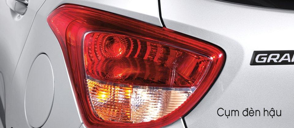 Đánh giá đèn hậu xe Hyundai Grand i10 2014
