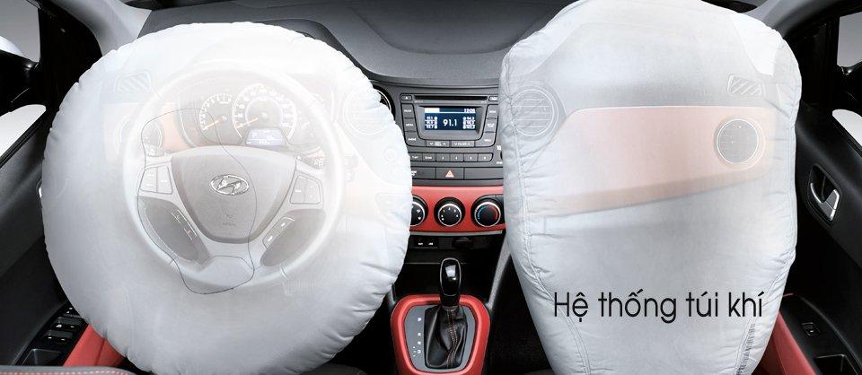 Đánh giá trang bị an toàn xe Hyundai Grand i10 2014