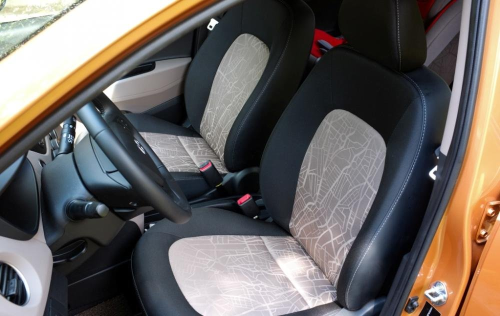 Đánh giá ghế trước xe Hyundai Grand i10 2014