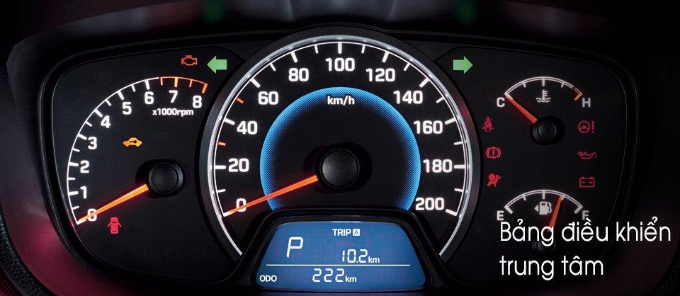 Đánh giá đồng hồ xe Hyundai Grand i10 2014
