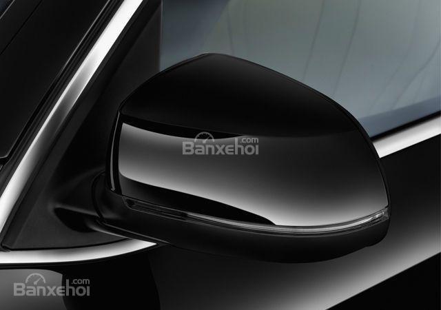 Gương chiếu hậu của BMW X5 2015.