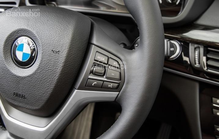 Phím điều khiển chức năng của BMW X5 2015.