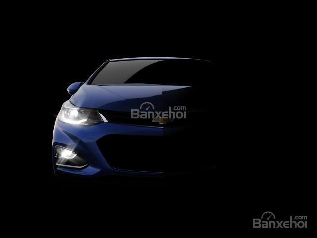 Chevrolet Cruze 2016 có hệ thống đèn chiếu sáng tích hợp LED.