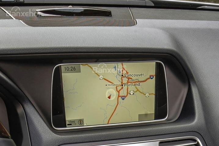 Đánh giá hệ thống định vị trên xe Mercedes-Benz E-Class 2015