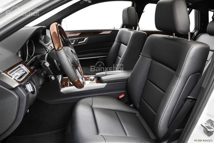 Đánh giá ghế ngồi xe Mercedes-Benz E-Class 2015