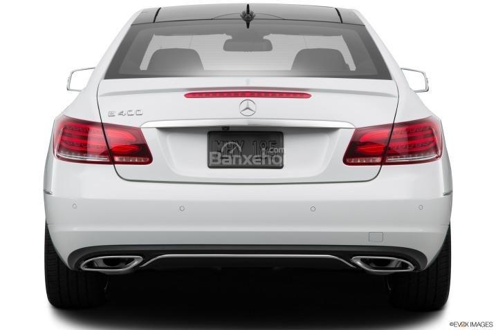 Đánh giá đuôi xe Mercedes-Benz E-Class 2015
