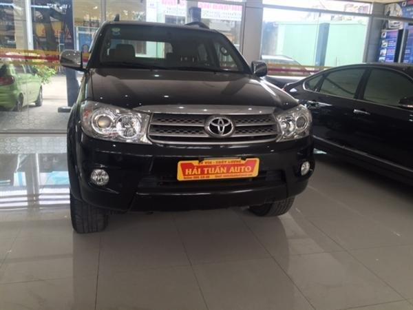 Hải Tuấn Auto cần bán xe Toyota Fortuner 2010, màu đen, 770 triệu-1