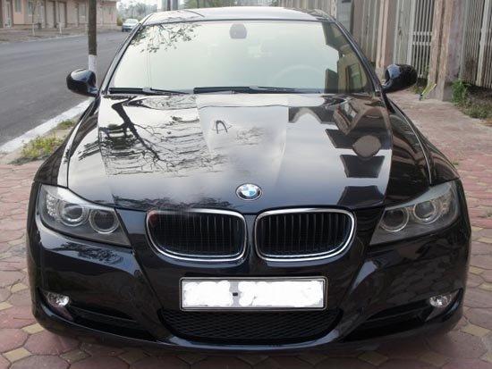 Cần bán BMW 3 Series 2009, màu đen, xe nhập, chính chủ -0