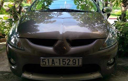 Cần bán gấp Mitsubishi Grandis 2011, màu nâu -0