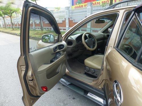 Hyundai Santa Fe đời 2003, nhập khẩu chính hãng, chính chủ, 387 triệu-2