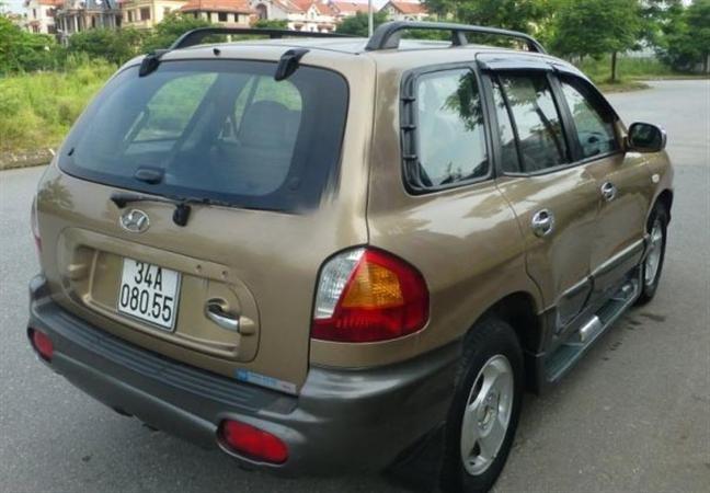 Hyundai Santa Fe đời 2003, nhập khẩu chính hãng, chính chủ, 387 triệu-3