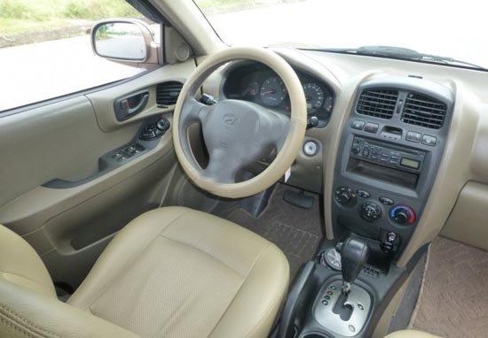 Hyundai Santa Fe đời 2003, nhập khẩu chính hãng, chính chủ, 387 triệu-4